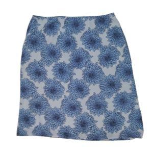 Apostrophe Floral A-Line Skirt Sz 14